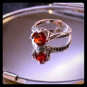 Jewelry - Red Rose Silver (925) Ring